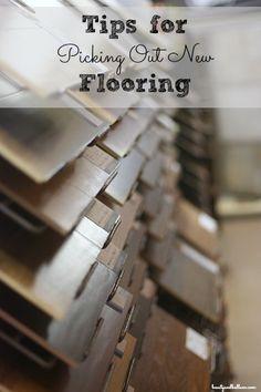 #Tips for picking new #floors