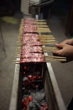 How to Make a Yakitori Grill Outdoor Oven, Outdoor Cooking, Bbq Grill, Grilling, Brick Bbq, Side Dishes For Bbq, Rocket Stoves, Food Truck, Italian Recipes