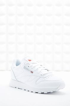 Reebok Classic Leather Trainers in White