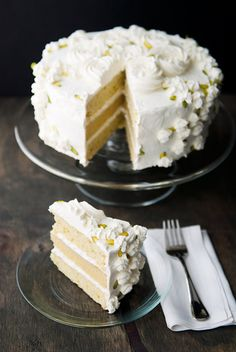 pistachio almond cake ~ It requires that you make your own pistachio paste, so I bet this has really great pistachio flavor. Just Desserts, Delicious Desserts, Yummy Food, Sweet Recipes, Cake Recipes, Dessert Recipes, Cupcakes, Cupcake Cakes, Pistachio Cake