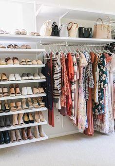 Bedroom Closet Storage, Master Bedroom Closet, Shelves In Bedroom, Closet Shelves, Storage Room, Bedroom Drawers, Diy Bedroom, Shoe Storage, Storage Drawers