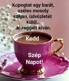 Happy Day, Good Morning, Shot Glass, Mugs, Tableware, Buen Dia, Dinnerware, Bonjour, Tumblers