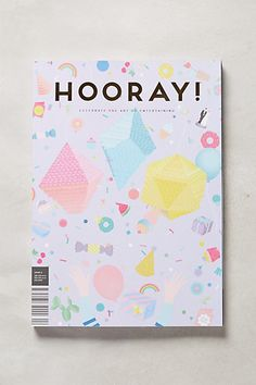 #Papercraft #inspiration for #MagazineMondays. Hitched Magazine, Issue 6 - anthropologie.com