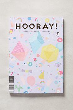 #Papercraft #inspiration for #MagazineMondays. Hitched Magazine, Issue 6 - anthropologie.com