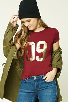 09 Graphic Tee - Tops - Blouses + Shirts - 2000224625 - Forever 21 EU English