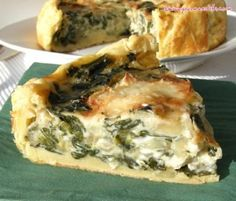 Spinach quiche and goat cheese Source by victoiredeschep Salmon Quiche, Spinach Quiche, Cheese Quiche, Frittata, Goat Cheese Recipes, Pizza, Paleo Dinner, Dinner Recipes, Healthy Dishes