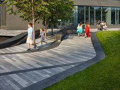 Pier 4 Plaza, by Mikyoung Kim Design.
