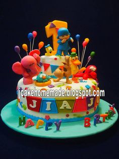 51 Best Pocoyo Cakes Images Pocoyo Cake Birthday Cake