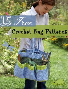 15 Free Crochet Bag Patterns