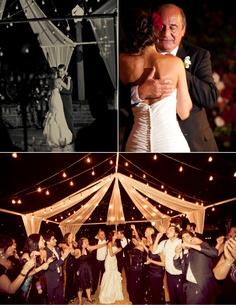 I love the idea of an outdoor wedding/reception