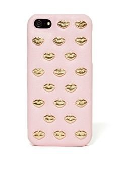 If you're going to get a new phone case for valentine's day this Follow Your Kiss iPhone 5 Case is the one to get