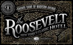 Ben Didier | The Roosevelt Hotel on Behance