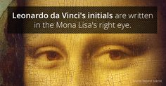 7 Mysterious Secrets Hidden in Famous Works of Art Famous Words, Famous Art, Mona Lisa Secrets, Discovery Channel Shows, Rotc, Renaissance Men, Forensic Science, Never Stop Learning, Great Artists