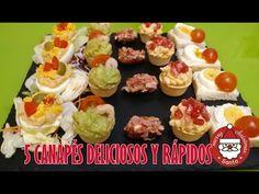 5 Canapés fáciles y rápidos para naviadad / Nerea Iglesias - YouTube