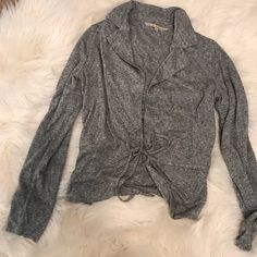 Flash Sale! Rachel Roy Front Tie Cardigan Rachel Roy Front Tie Cardigan. Grey and very light weight. RACHEL Rachel Roy Sweaters Cardigans