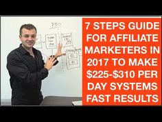 Affiliate marketing for beginners 7 steps tutorial 2017 to get faster results - YouTube