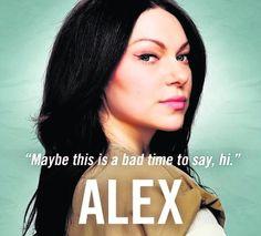 I ♥ Orange is the New Black! ~ Alex Vause (Actress Laura Prepon)