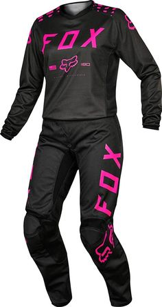 2017 Fox Racing Women'S 180 Combo - Motocross Mx Atv Dirt Bike Gear Jersey Pant