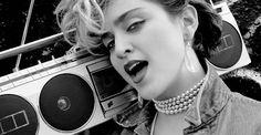 Madonna, a principios de 1980, perfilaba un nuevo destino de moda para el denim.