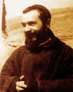 "Padre Pio ~ Pray in the footsteps of St. Pio and, his ""holy father"" St. Francis of Assisi on pilgrimage with www.CatholicFaithJourneys.com  #CatholicBucketList #Italy #StPadrePio"