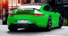 Porsche 911 C4S by TECHART Stays Timeless With Sophisticated Style Enhancements