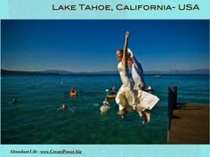 Exotic and luxurious holiday and honeymoon locations - Lake Tahoe, California