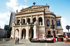 The Old Opera House in Frankfurt