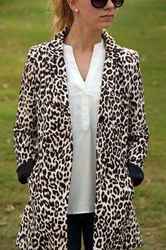 OASAP Leopard Blazer | Fall Fashion
