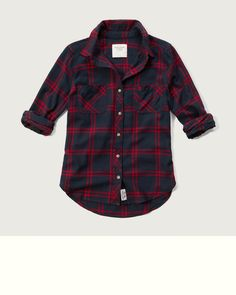 Womens Plaid Flannel Shirt | Womens Tops | Abercrombie.com