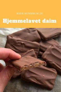 Hjemmelavet Daim chokolade - Easy For Beginners