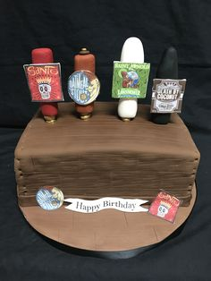 Discover recipes, home ideas, style inspiration and other ideas to try. Beer Birthday Party, Dad Birthday Cakes, Men Birthday, Birthday Ideas, Top Craft Beers, Craft Beer Wedding, Beer Decorations, Craft Beer Festival, Beer Cakes
