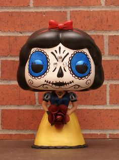 Custom Funko Pop Vinyl Disney Princesses DAY by ImaginationTherapy