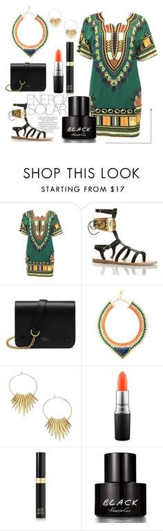 """""""BoHo-Tribal Mix"""" by pixidreams ❤ liked on Polyvore featuring Magdalena, Mulberry, BCBGMAXAZRIA, Michael Kors, MAC Cosmetics, Tom Ford and Kenneth Cole"""
