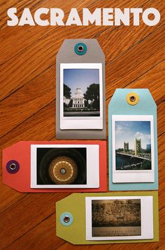 Gather your favorite travel moments by collecting your Instax shots in a DIY scrapbook!