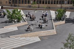 Plaza at Umeå University, Sweden. Click image for full profile and visit the slowottawa.ca boards: http://www.pinterest.com/slowottawa/