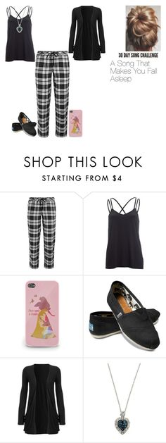 """30 Day song challenge: Day 10"" by ilovecats-886 ❤ liked on Polyvore featuring DKNY, Beyond Yoga, TOMS and 1928"