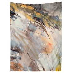 Ginette Fine Art Feathers In The Wind Tapestry | DENY Designs Home Accessories
