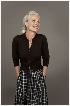Simple styling, less is more, for women over 40. For more styling tips check out http://www.lookingstylish.co.uk