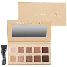 LORAC, Unzipped, eye kit. Formulated WITHOUT:  - Parabens  - Sulfates  - Synthetic Fragrances  - Synthetic Dyes  - Petrochemicals  - Phthalates  - GMOs  - Triclosan ~ $40 (200 value)