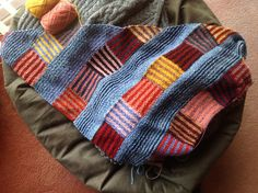 Ravelry: Project Gallery for Log Cabin Shawl pattern by Cassie Castillo