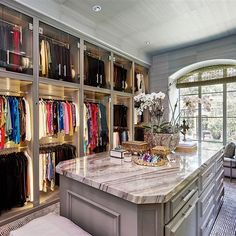 "50 Likes, 6 Comments - Kathleen Jacobson (@thecouturecloset1) on Instagram: ""The Couture Closet's latest design. #thecouturecloset1 #dreamcloset #closetdesign #organization…"""