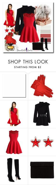 """NYE Dance Party"" by emina-095 ❤ liked on Polyvore featuring Giorgio Armani, Chicwish, Givenchy, Jimmy Choo, Dolce&Gabbana, polyvorecontest and nyestyle"