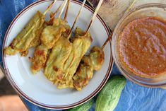 Moo Satay (Pork Satay) หมูสเต๊ะ