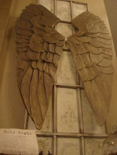 how to make angel wings like pottery barn