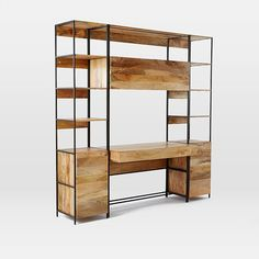 Rustic Modular Storage Collection | West Elm