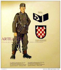"""13ème Waffen-Gebirgs Division der SS """"Handschar"""""""