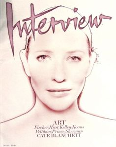 Cate Blanchett - Interview Magazine [United States] (January 2009)