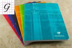 Classic Clairefontaine Staplebound Notebook - 8.25 x 11.75, Graph Paper