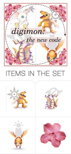 """""""digimon: the new code"""" by natasha-maree13 ❤ liked on Polyvore featuring art, polyvoreeditorial and monstersluttofinish"""