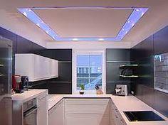 moderne zen küche wohnzimmer weiß abgehängte decke | traumhaus, Wohnzimmer